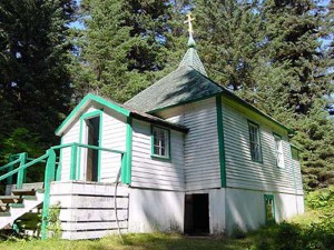 Chapel on Spruce Island