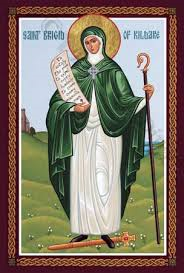 Icon St. Bridget of Kildare