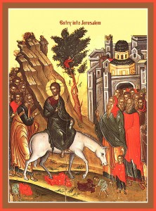 Icon Palm Sunday