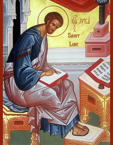 Icon - St. Luke the Evangelist