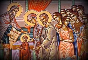Icon - Entry of the Theotokos