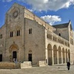 Catholic Cathedral in Bari Italy