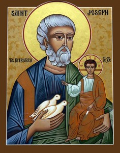 Icon - St Joseph the Betrothed