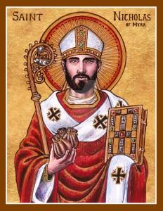 Icon - St. Nicholas 12-6
