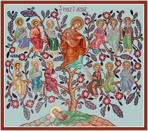 Icon - geneology of Christ