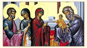 Icon - Meeting of the Lord