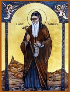 Icon - St. Anthony the Great