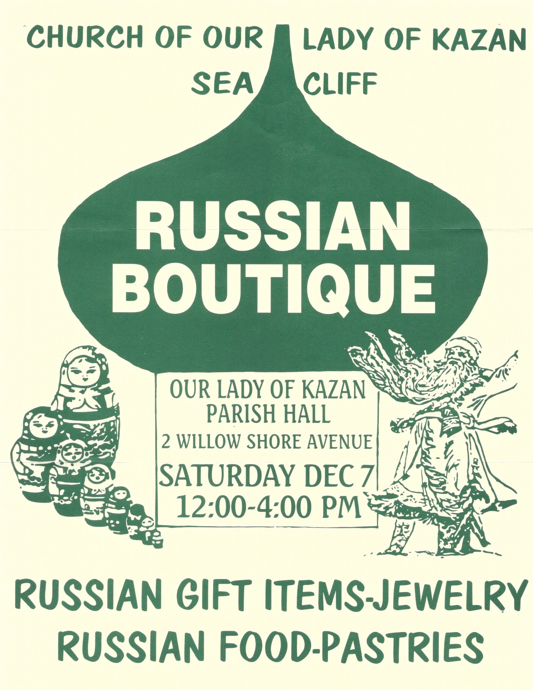 Christmas Russian Bazaar