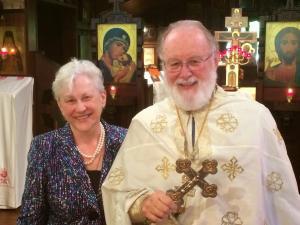 Fr. Leonid & Mimi Sapphire Wedding Anniversary