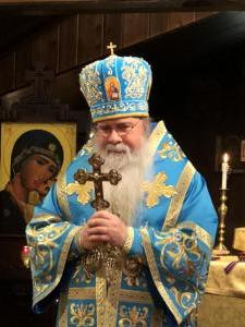 Metropolitan Tikhon visits Church of Our Lady of Kazan