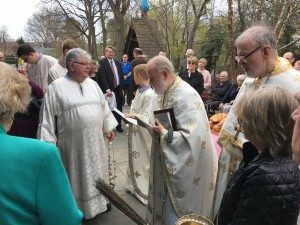 St Basil the Great Followed by Blessings of the Food Baskets, April 15, 2017
